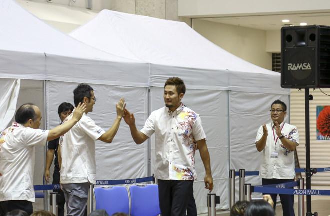 喜多川選手入場