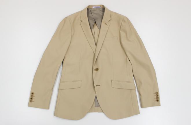 ストレッチスーツのジャケット