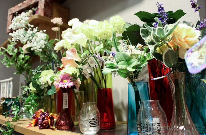 花瓶に飾られたお花