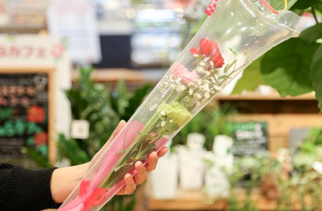 ルポゼのミニ花束