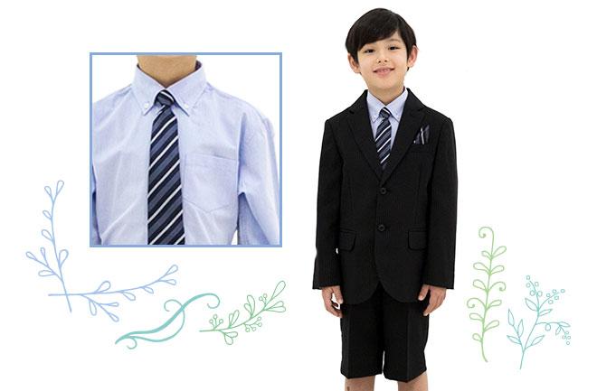 男の子と服