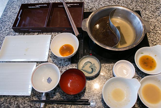 食後のお皿や鍋
