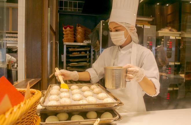 パンを作る人