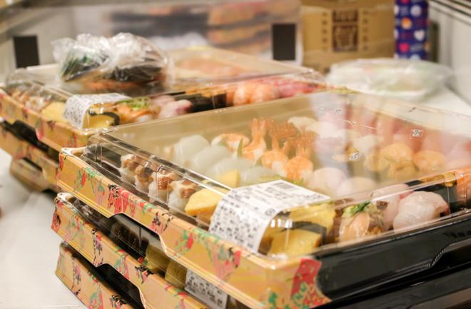並ぶお寿司
