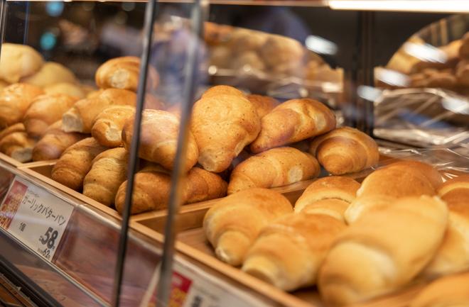 たくさんのパン