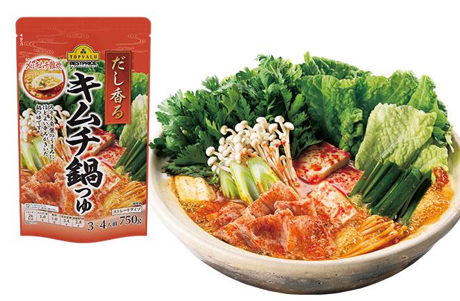 キムチ鍋と具材