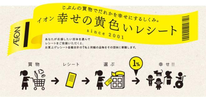幸せの黄色いレシート